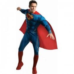 Disfraz de Superman Hombre de Acero musculoso - Imagen 1