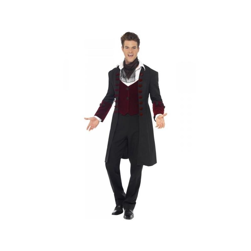 Disfraz de vampiro gótico Fever para hombre , Imagen 2