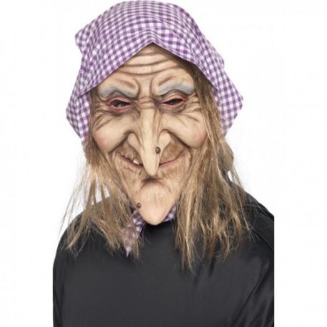 Máscara de bruja vieja - Imagen 1