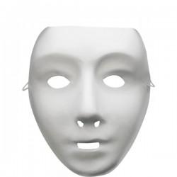 Máscara básica blanca - Imagen 1