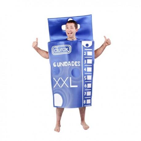 Disfraz de caja de condones - Imagen 1