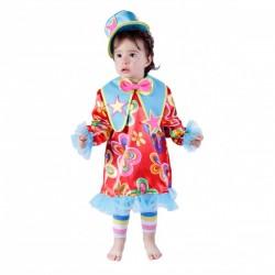 Disfraz de payasita bebé - Imagen 1
