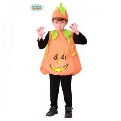 Disfraz de calabaza Halloween infantil - Imagen 1