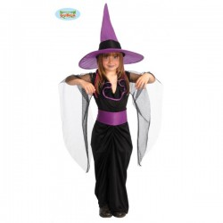 Disfraz de bruja drújula para niña - Imagen 1