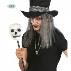 Cetro de brujo con calavera - Imagen 1