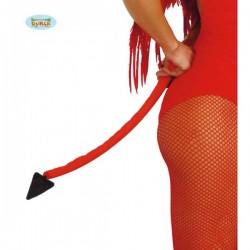 Cola de diablo rojo 60 cm - Imagen 1