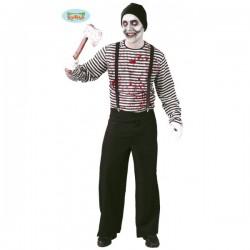 Disfraz de mimo asesino - Imagen 1