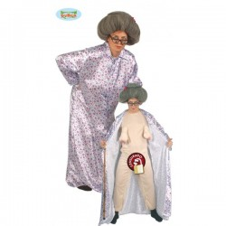 Disfraz de abuelita sexy para hombre - Imagen 1