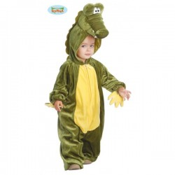 Disfraz de cocodrilo para bebé - Imagen 1