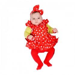 Disfraz de bebé sevillana - Imagen 1