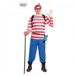 Disfraz de Wally excursionista - Imagen 1