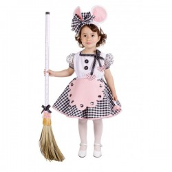 Disfraz de ratita presumida para niña - Imagen 1