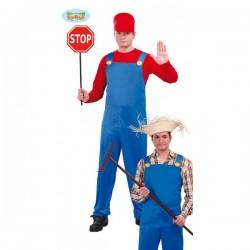 Disfraz de maquinista de tren Mario - Imagen 1