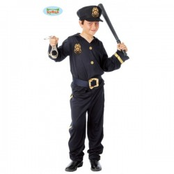 Disfraz de policía infantil - Imagen 1