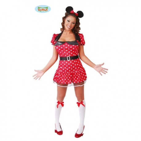 Disfraz de ratoncita Minnie - Imagen 1