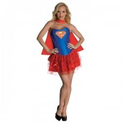 Disfraz de Supergirl corsé - Imagen 1