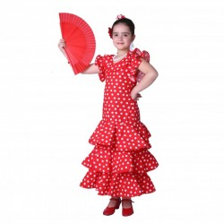Disfraz de sevillana para niña - Imagen 1