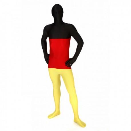 Disfraz de bandera de Alemania Morphsuit - Imagen 1