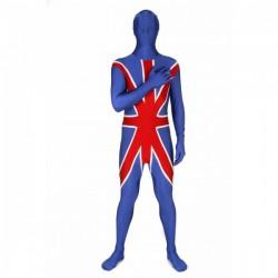 Disfraz de bandera de Reino Unido Morphsuit - Imagen 1