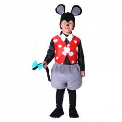 Disfraz de ratoncito para niño - Imagen 1