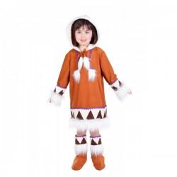 Disfraz de esquimal para niña - Imagen 1