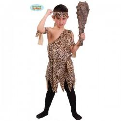 Disfraz de troglodita para niño - Imagen 1