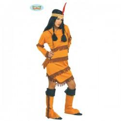 Disfraz de india Sioux - Imagen 1