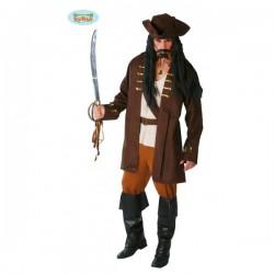 Disfraz de capitán pirata - Imagen 1