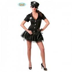 Disfraz de mujer policía americana - Imagen 1