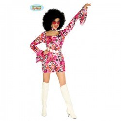 Disfraz de chica de disco - Imagen 1