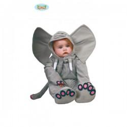 Disfraz de elefante para bebé - Imagen 1