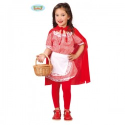 Disfraz de caperucita para niña - Imagen 1