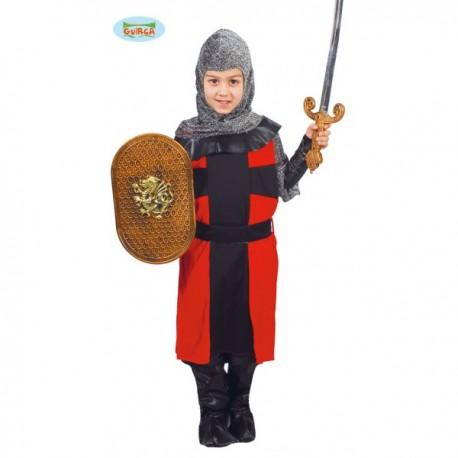 Disfraz de caballero feudal para niño - Imagen 1