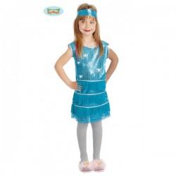 Disfraz de charlestón para niña - Imagen 1