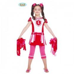 Disfraz de animadora para niña - Imagen 1
