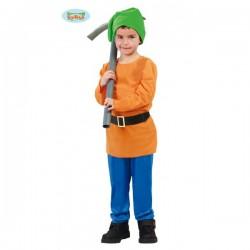 Disfraz de enanito del bosque para niño - Imagen 1