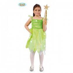 Disfraz de hada del bosque para niña - Imagen 1