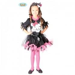 Disfraz de calavera infantil - Imagen 1