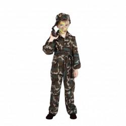 Disfraz de camuflaje para niño - Imagen 1