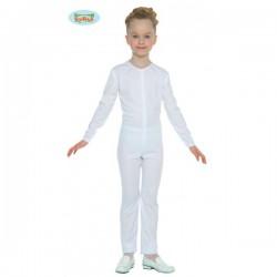 Maillot blanco para niña - Imagen 1