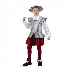Disfraz de caballero Don Quijote para niño - Imagen 1