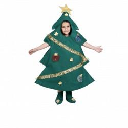 Disfraz de árbol de navidad infantil - Imagen 1