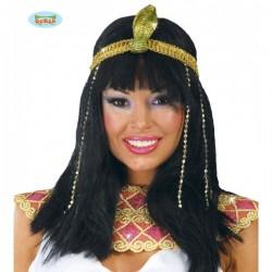 Peluca de bella egipcia - Imagen 1