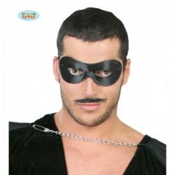 Antifaz Pierrot negro - Imagen 1
