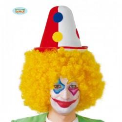 Sombrero de payaso de fieltro - Imagen 1