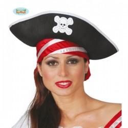 Sombrero de pirata de los mares - Imagen 1