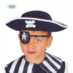 Sombrero de pirata infantil - Imagen 1