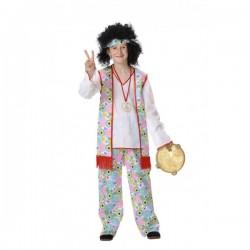 Disfraz de hippie para niño - Imagen 1