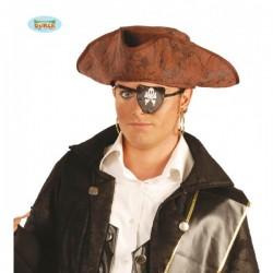 Sombrero de pirata del caribe - Imagen 1