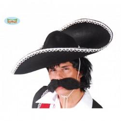Sombrero de mejicano de fieltro - Imagen 1